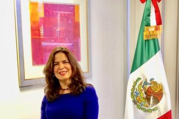Marcela Celorio, Consul General of Mexico in Los Angeles CA