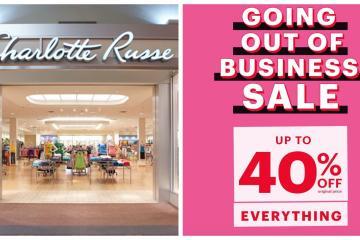 Charlotte Russe cerrará todas su tiendas