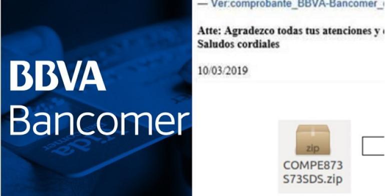 ¿Te ha llegado un correo de BBVA-Bancomer? Puede ser fraude
