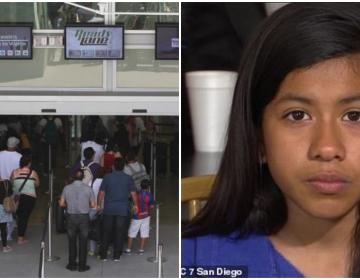 A 9-Year-Old Girl was detained at Border Port of Entry