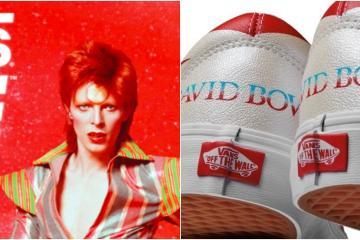 Vans crea tenis en homenaje a David Bowie