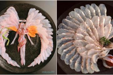 Sashimi Art: pescado crudo y mucho talento