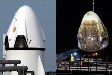 Falla en pruebas la nave espacial Crew Dragon de SpaceX