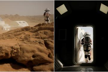 ¿Cómo sería una base humana en Marte? Checa esta galería