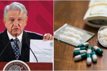 Gobierno de AMLO quiere levantar la prohibición de drogas en México