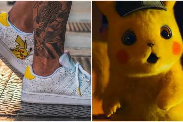 Checa estos tenis Adidas edición especial Pokémon