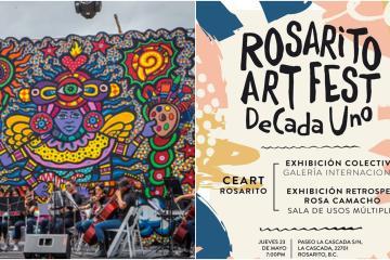 """Asiste al décimo aniversario de """"Rosarito Art fest"""""""