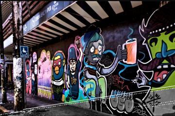 El arte urbano en Tijuana: expresión y realidad social