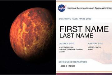 ¡La NASA te busca! Quiere que envíes tu nombre a Marte