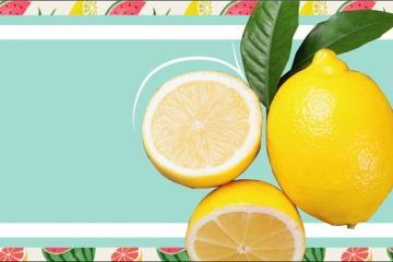 Meter una rodaja de limón en tu vaso de agua ¡Es peligroso!