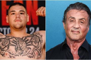 """Stallone nombra a Andy Ruiz Jr. como el """"Rocky mexicano"""""""