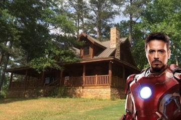 Duerme como un vengador en la cabaña de retiro de Tony Stark