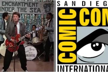 ¿Sin boleto para Comic-Con? Olvídalo con este tributo a Back to...