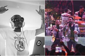 Snoop Dogg y Banda MS podrían grabar dueto