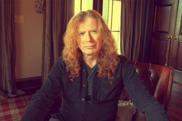 Dave Mustaine, cantante de Megadeth, tiene cáncer de garganta