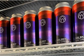 Nu Cali launches its canned version of Sunburst Amber Ale style