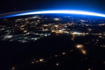 La Tierra vista desde el espacio es hermosa