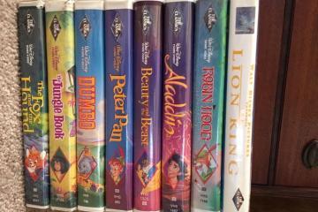 Películas de Disney en VHS se siguen vendiendo en una fortuna