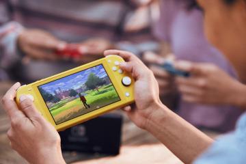 Este es el Nintendo Switch Lite, más barato y colorido