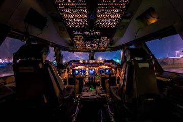 Piloto comparte impresionantes imágenes de sus vuelos