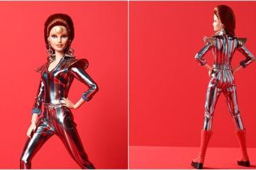 Barbie lanza muñeca de colección inspirada en David Bowie
