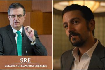 Marcelo Ebrard quiere prohibir series de narcos