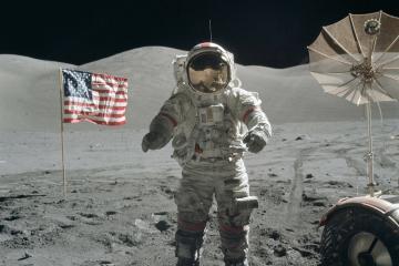 Cumple 50 años de la llegada del hombre a la Luna