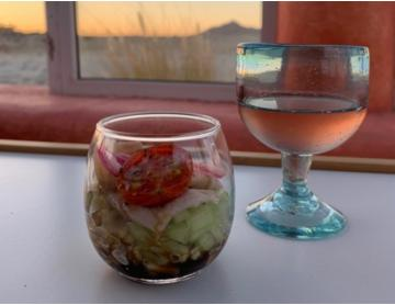 Chef Ilean Padilla enamora con un menú marino en San Felipe