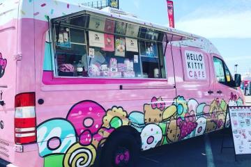 Hello Kitty Cafe Truck viene a deleitar a todos en Comic-Con San Diego