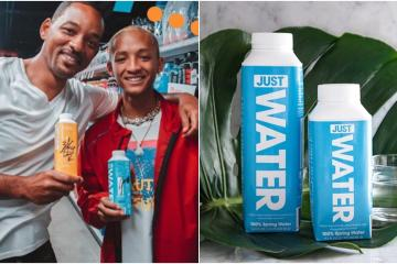 Will Smith lanza su marca de agua embotellada
