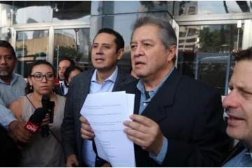 """El PRD denuncia el """"Bonillazo"""" ante la FGR"""