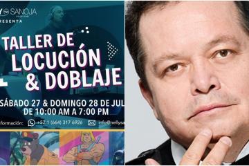 Actor de doblaje vendrá a Tijuana a dar un curso