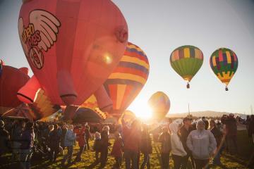 Baja California tiene su propio Festival del Globo Aerostático