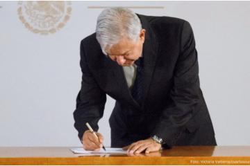 Niega Presidencia compromiso de AMLO para no reelegirse