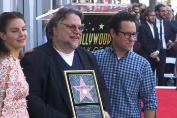Ya puedes ir a visitar la Estrella de Guillermo Del Toro en Hollywood