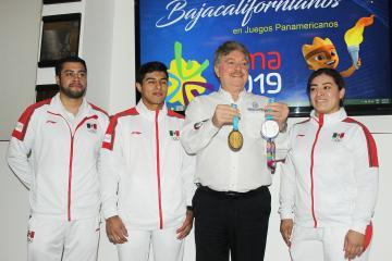 Isaac y Aremi, dos medallistas de Lima 2019 orgullosamente de BC