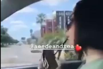 Hija de alcalde de Culiacán hace un abanico de billetes para...