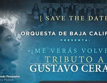Orquesta de Baja California hará homenaje a Gustavo Cerati en Tijuana