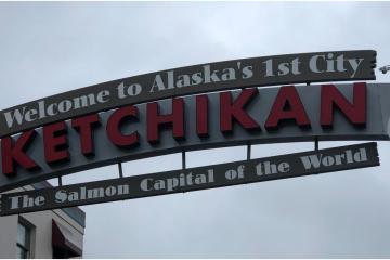 Ketchikan es la capital mundial del Salmón