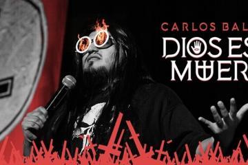 """Cancelan show de Carlos Ballarta por el nombre """"Dios está..."""