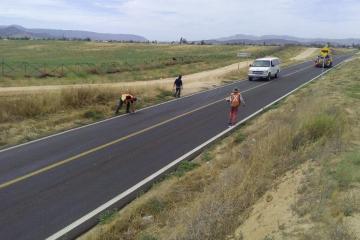 Si vas en carretera a Maneadero o a Ojos Negros, toma precauciones