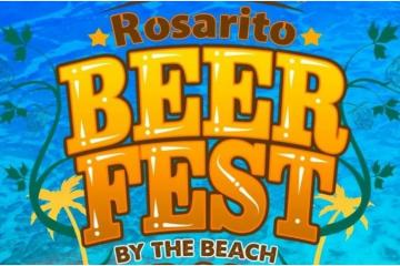 The Rosarito Beer Fest will be a great beach party!