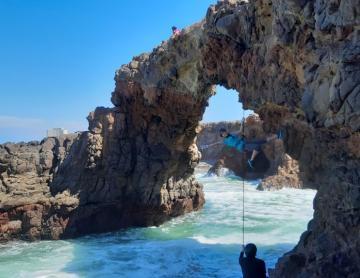 ¿Buscas una aventura? Rosarito te lo da con Rappel en El Arco
