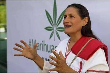 Jesusa Rodríguez dice que es Senadora Marihuana de tiempo completo