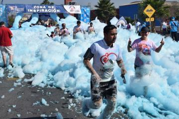 The foam race is back in Tijuana!