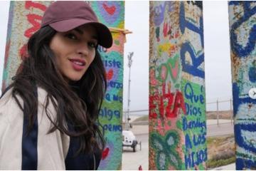 Eiza González visitó Tijuana