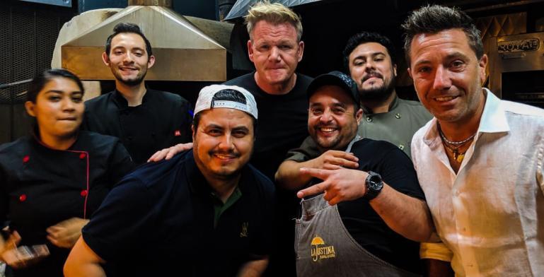 El chef Gordon Ramsay hace parada en Tijuana