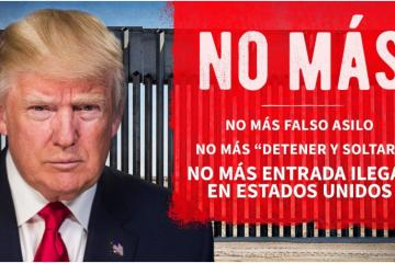 Trump está contento con la cooperación de AMLO y el avance de su...