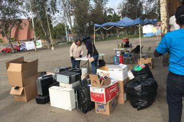 El lunes 23, una nueva jornada de acopio de basura tecnológica