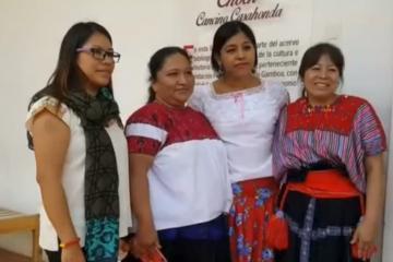 Indígenas de Chiapas se convierten en ingenieras solares en la India